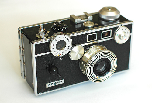 Argus C3 35mm rangefinder camera