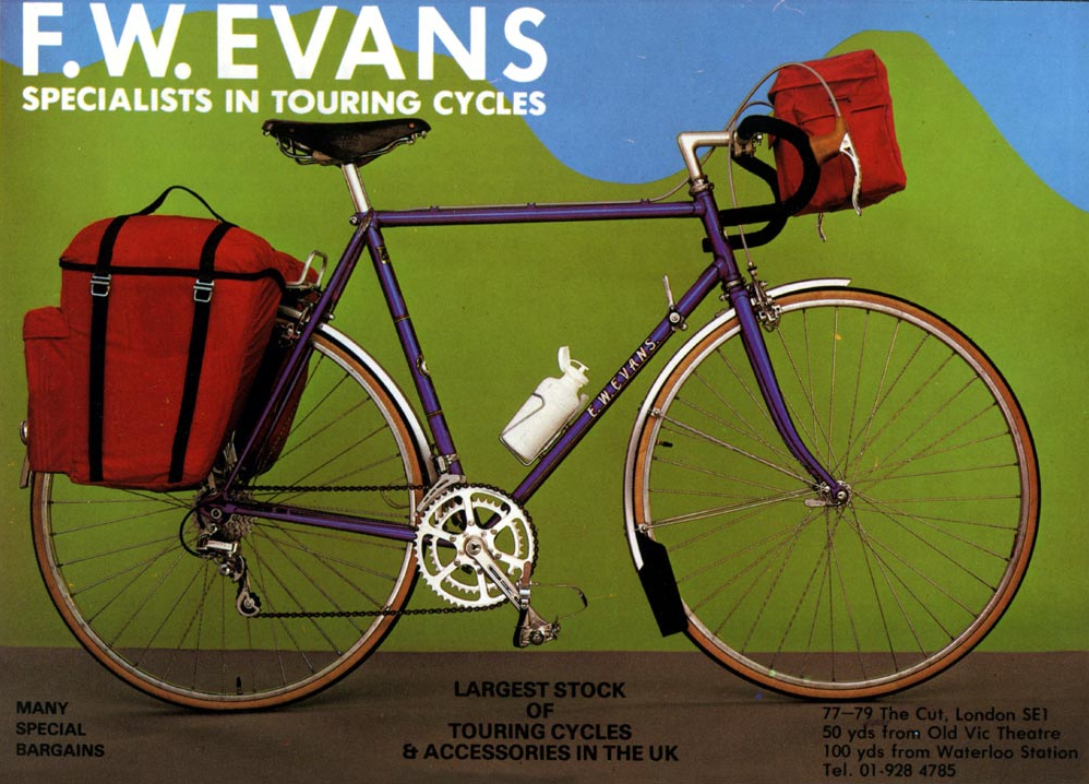 F.W. Evans Touring cycles