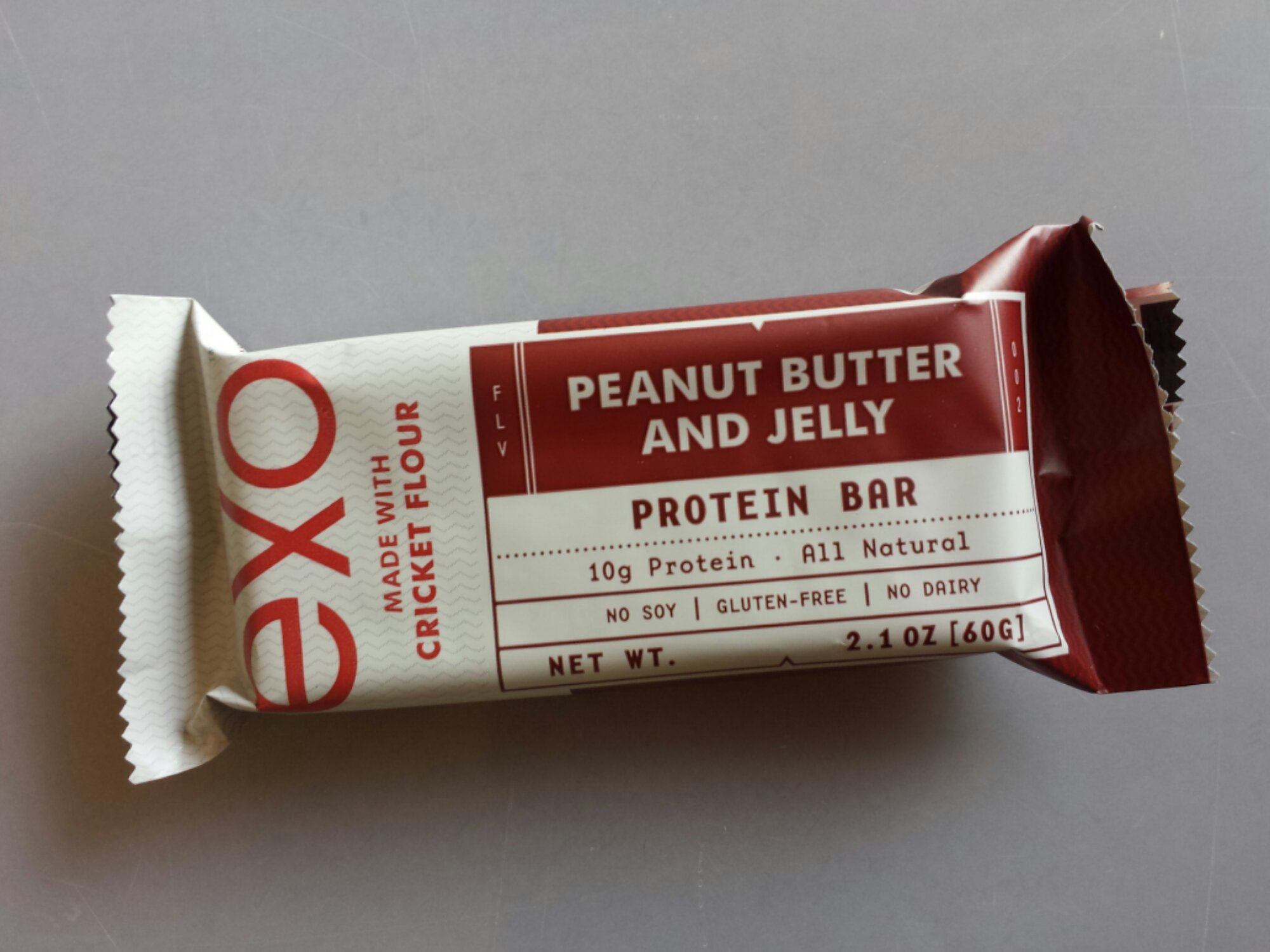 exo Peanut Butter and Jelly protein bar
