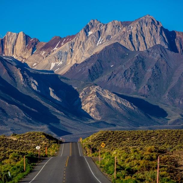 Sierras road
